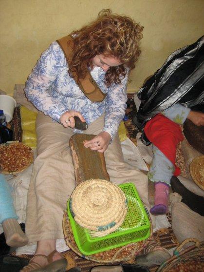 Morocco Day 3 Taroudant Argon Oil Co-Op Adele 2