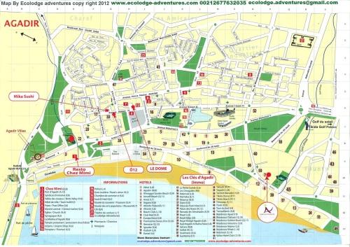 agadir map
