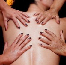 agadir 4 hands massage