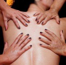 agadir 4 hands massage